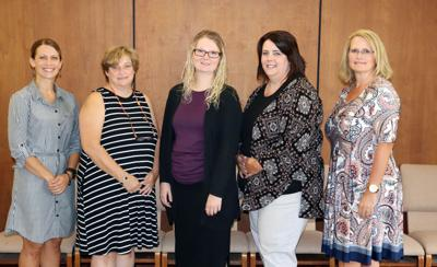 Staff recognized for service
