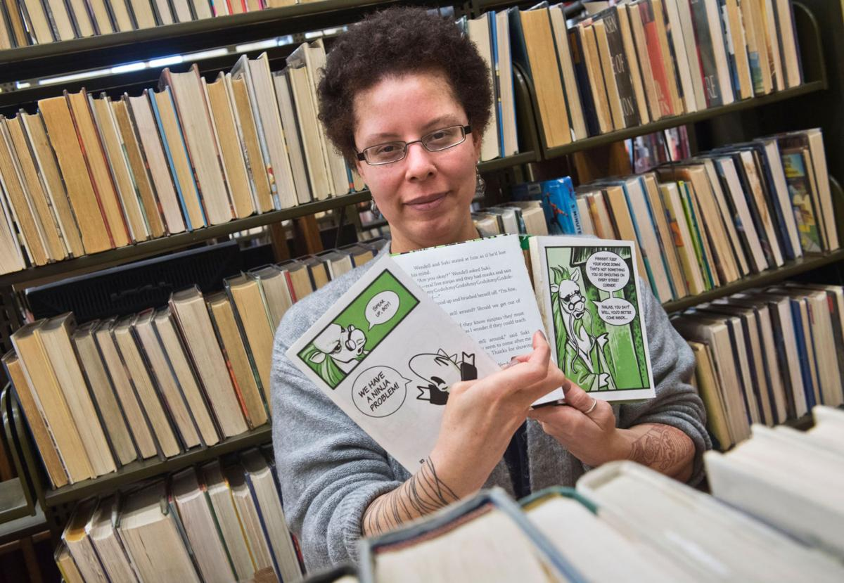 Potsdam weeds out stacks for renovation