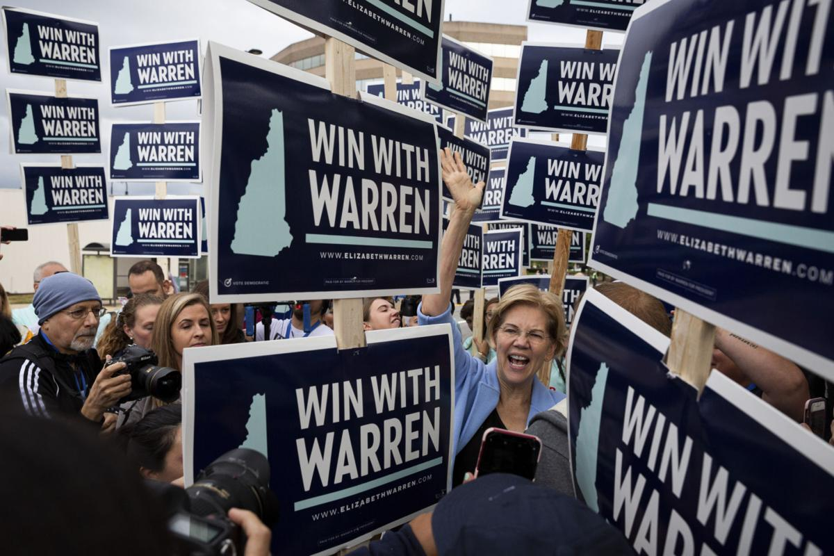 Warren stands out at New Hampshire Democratic Party convention