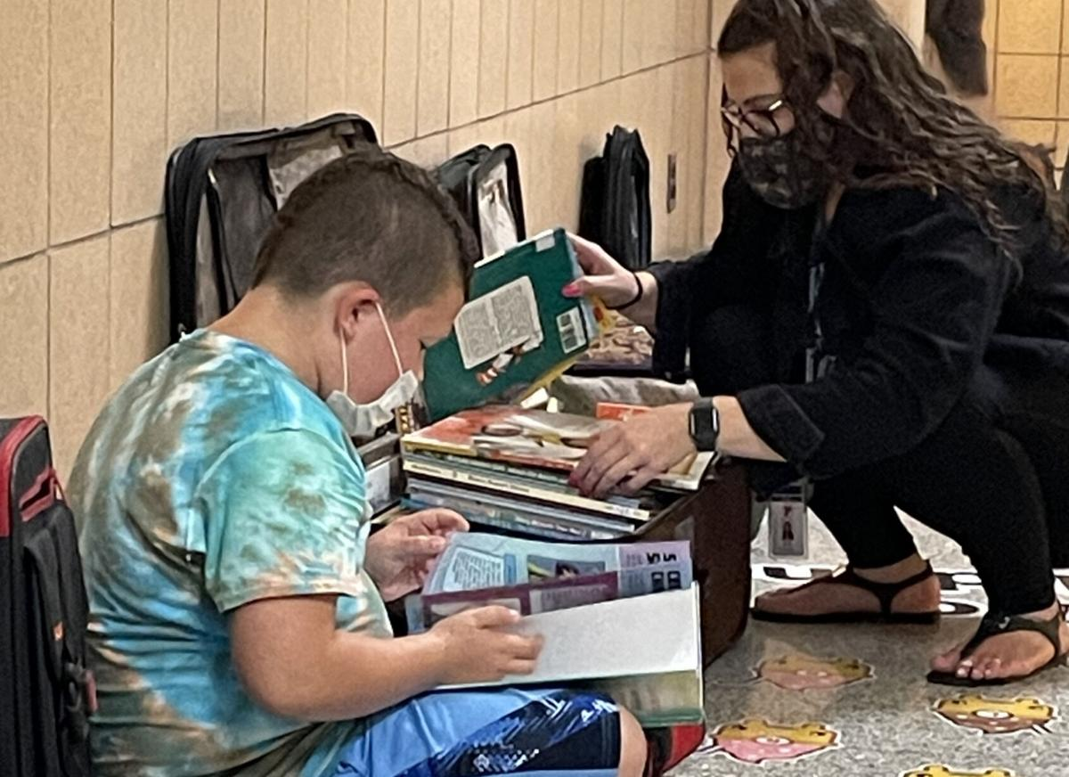 CiTi's traveling library promotes literacy in Oswego County
