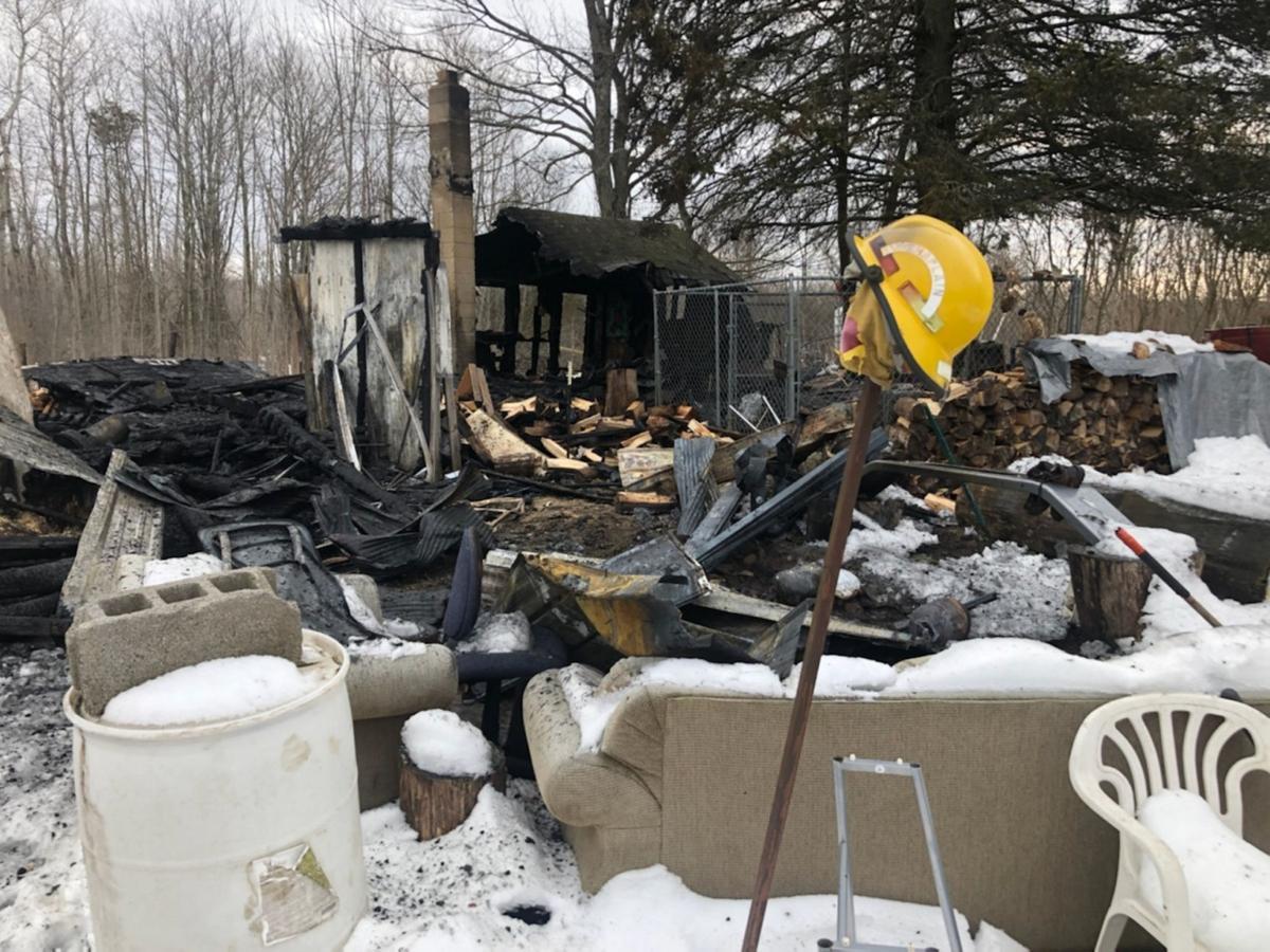 Destructive fire yields good news