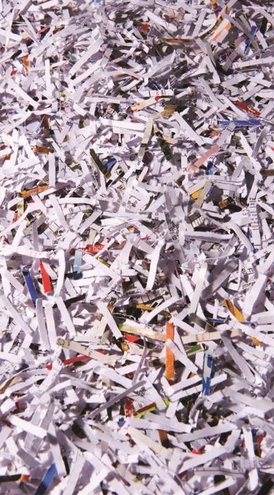 Paper shredding event Aug. 7