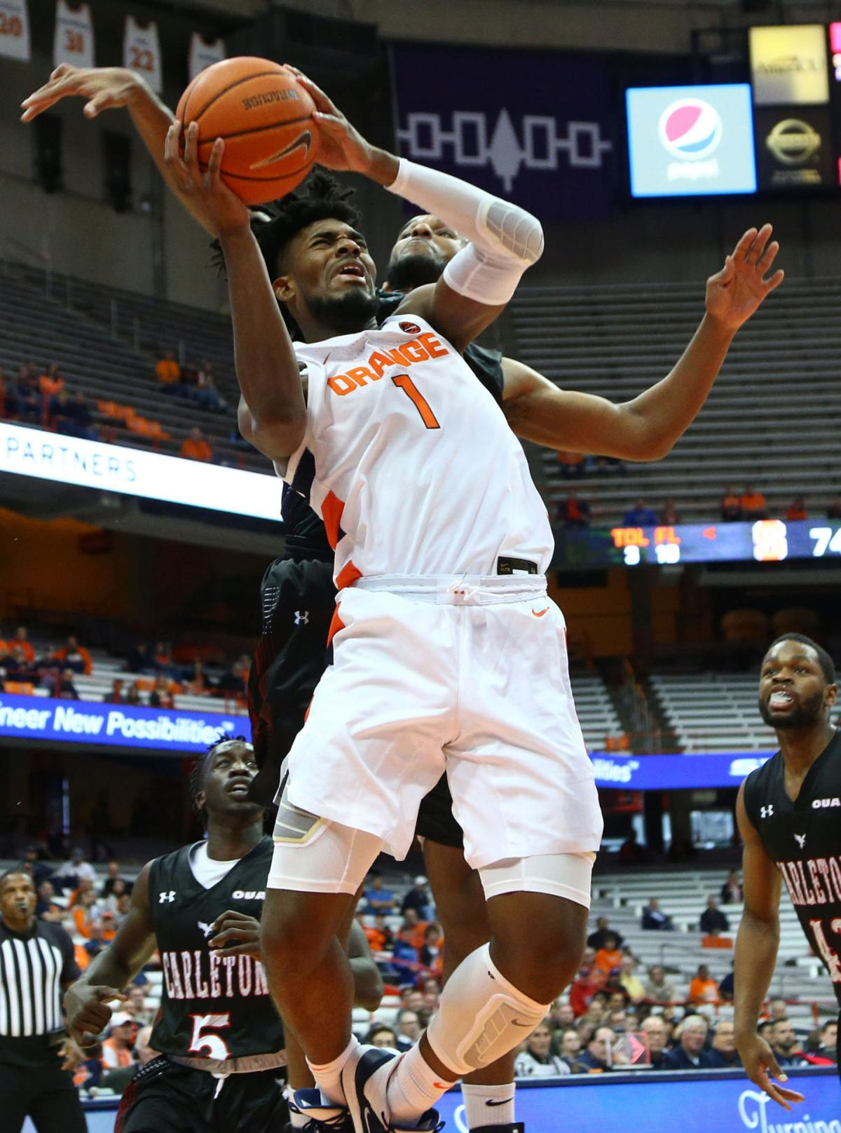 College Basketball Syracuse Freshman Guerrier Ready To