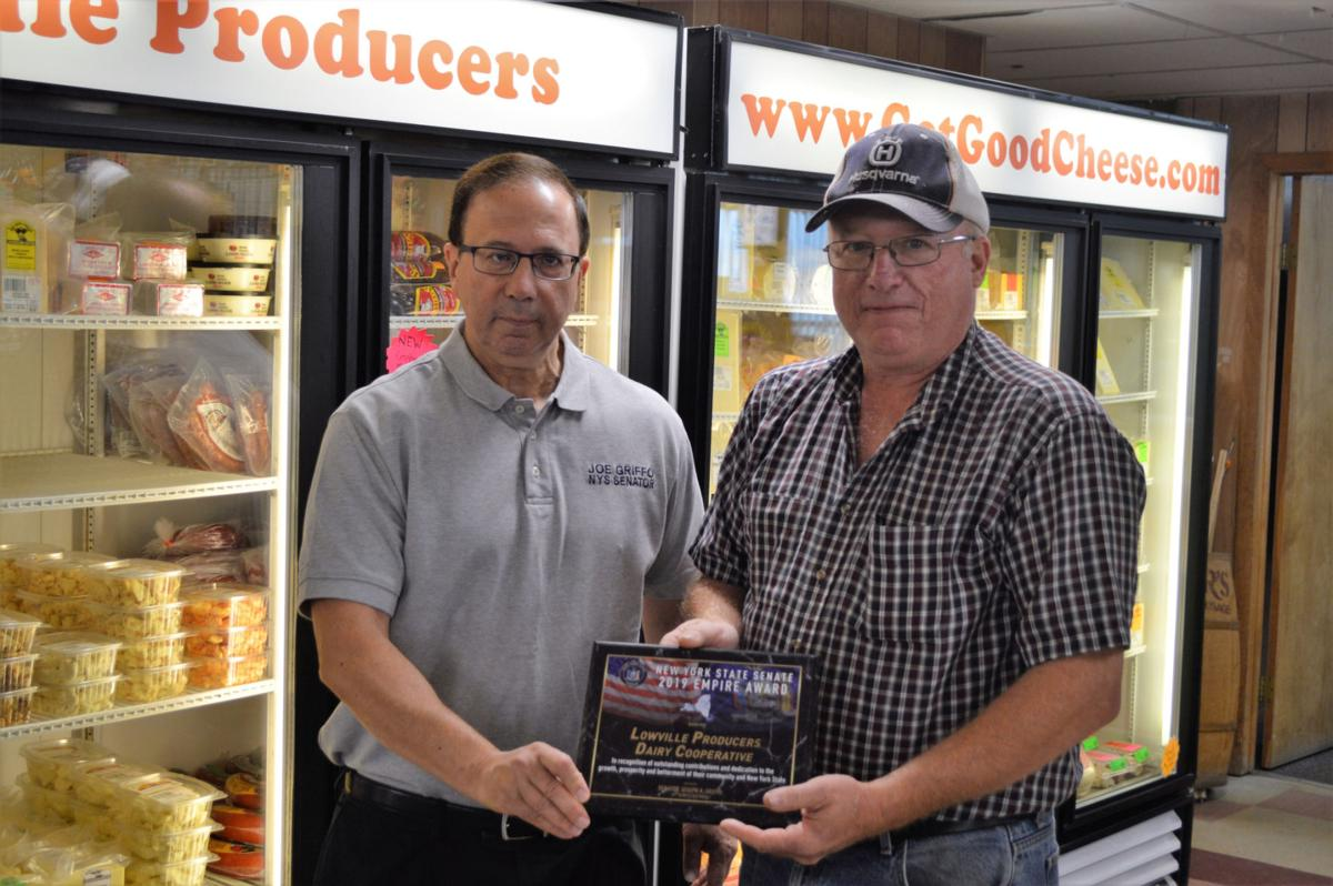 Lowville milk cooperative honored with state award