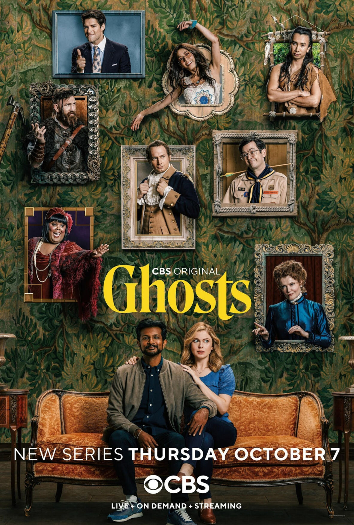 'Ghosts' make for strange bedfellows in CBS sitcom