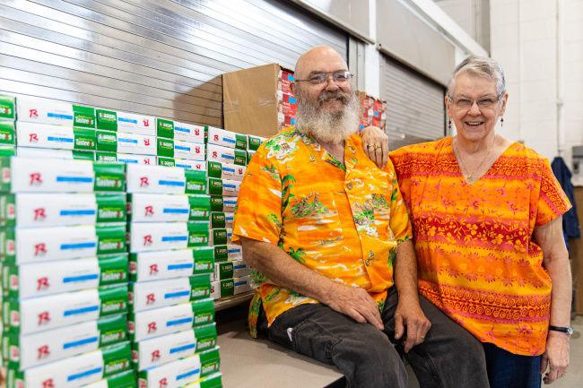 Food pantry pair set to retire