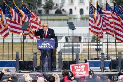 Law group may bar Giuliani over Capitol riot