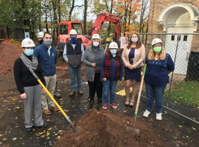 Parish Public Library breaks ground for expansion project