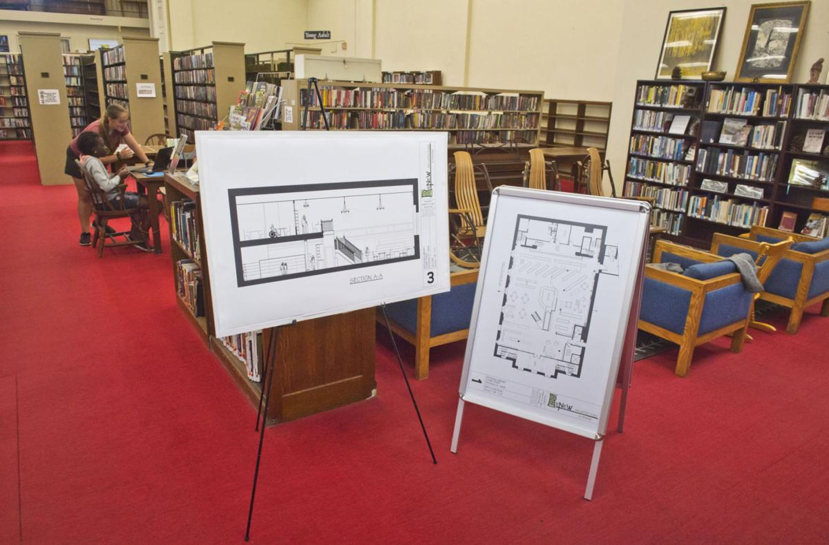 Potsdam Library aiming for classic look