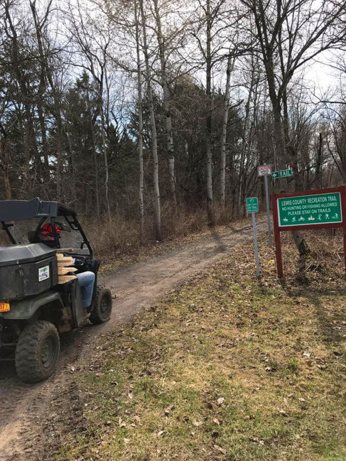 Lewis reworks local law for trail system