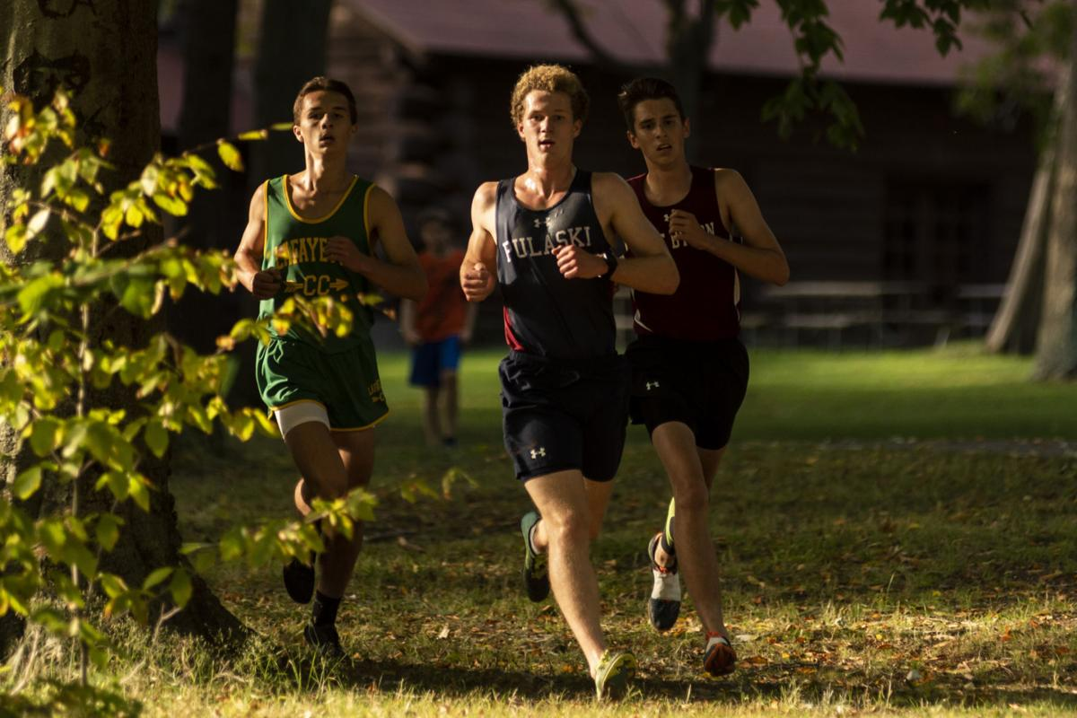 Blue Devils boys cross country team running toward history