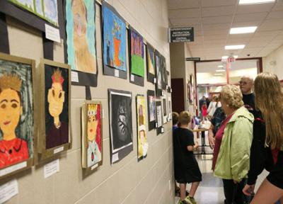 FCSD showcases student art work during annual show