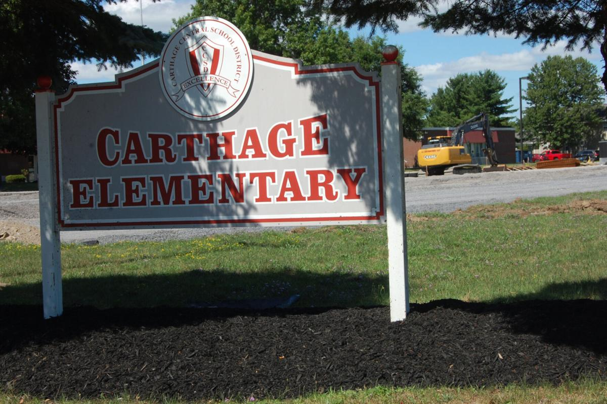 Capital project begins at Carthage Central