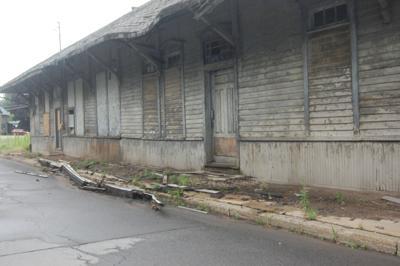 Former train station causes safety concerns