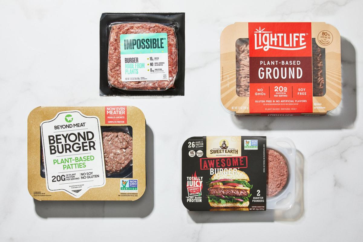 We tested home versions of veggie burgers