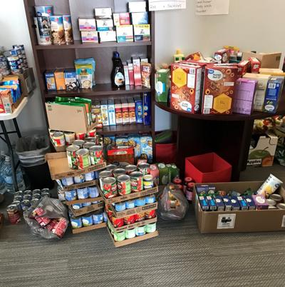Officials assure the public - there is plenty of food for those in need