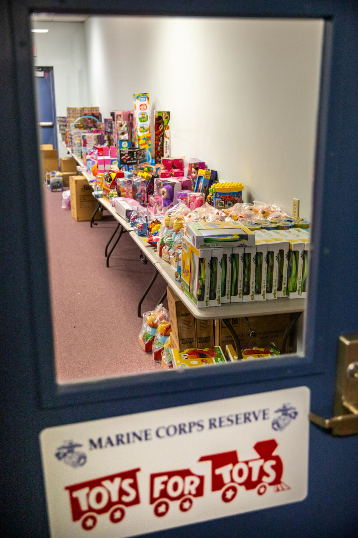 Reviving toys for tots Team effort of childhood friends boosts Jefferson County program run by U.S. Marine Corps Reserve