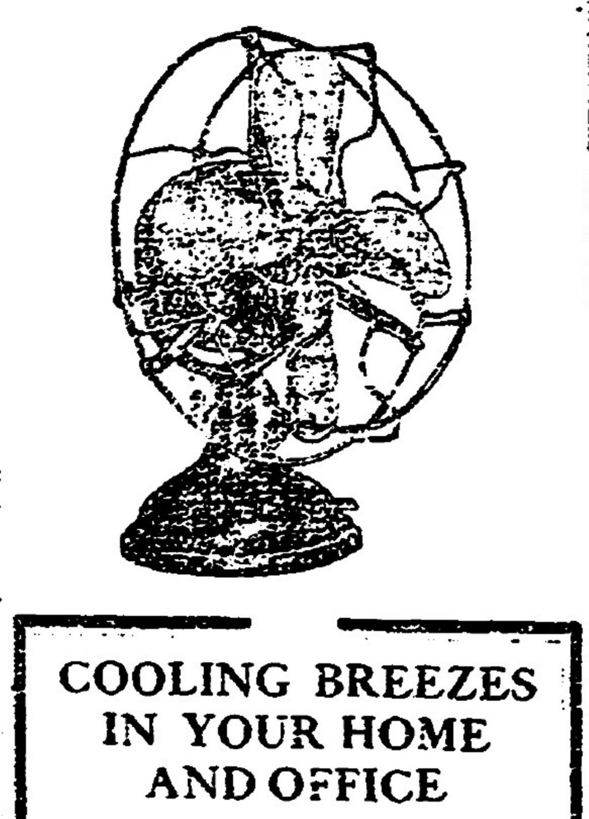A July 1911 Watertown Light & Power Co. advertisement