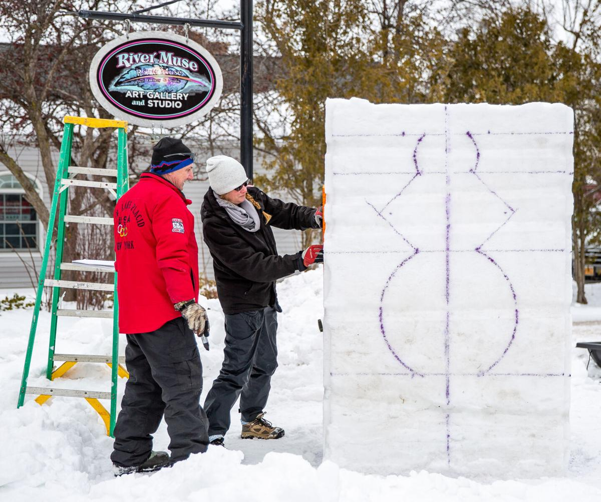 Clayton eyed for state snow sculpting event