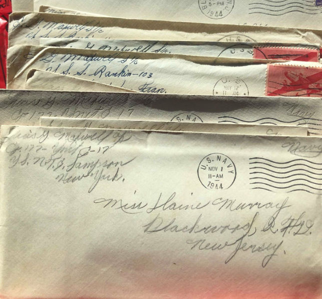 WWII love letters send pair on mission
