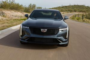 World-class engineering makes the 2020 Cadillac CT4-V grin-inducing fun.