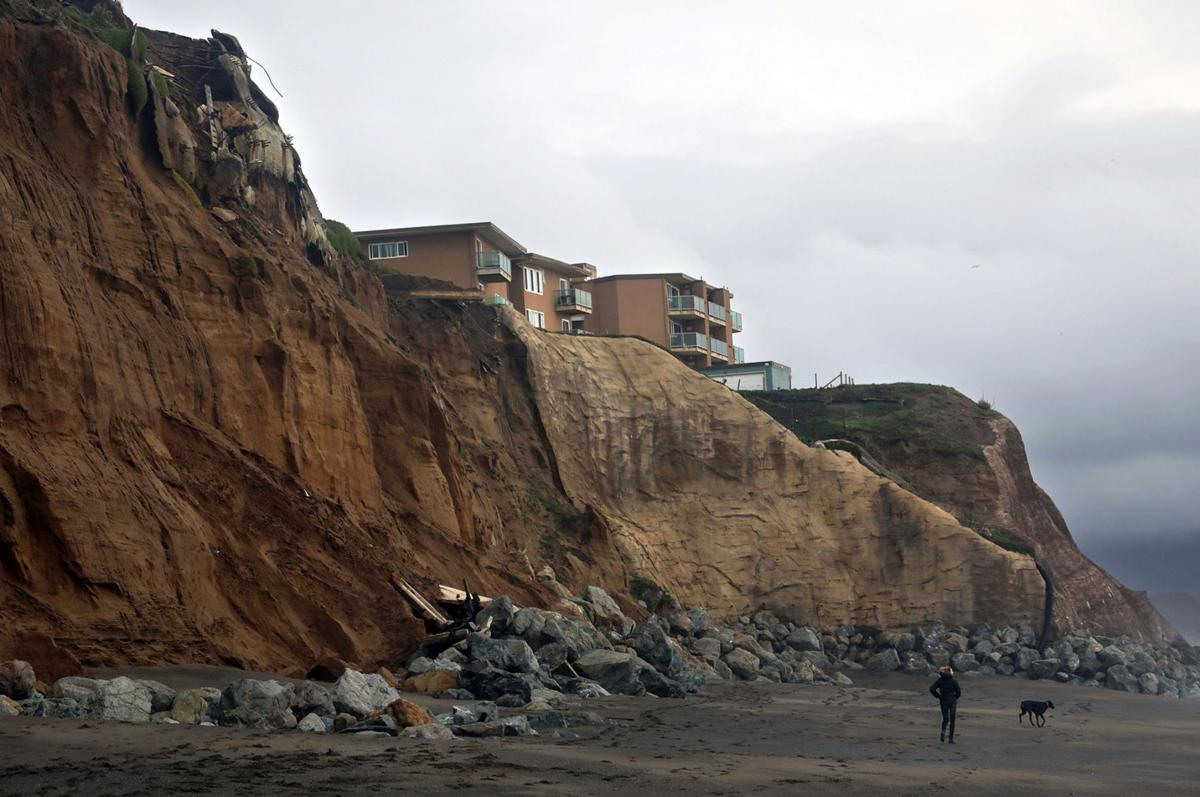 The California coastline is disappearing