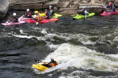 Rainfall delays work on river