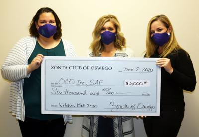 Zonta Club of Oswego aids OCO SAF Program