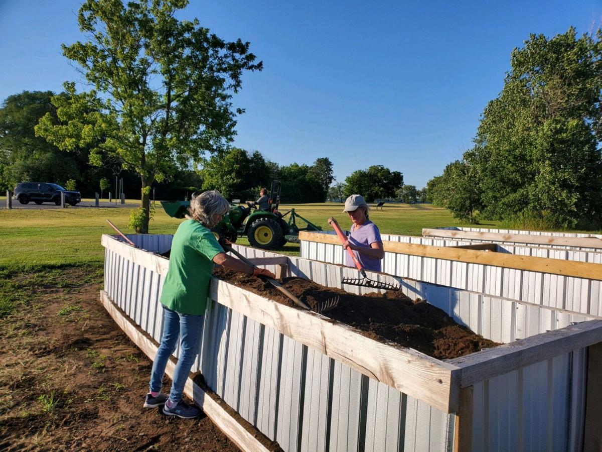Community garden needs volunteers Monday to complete project