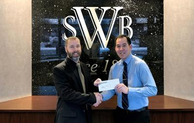 Bank Gives $5,000 to VTC
