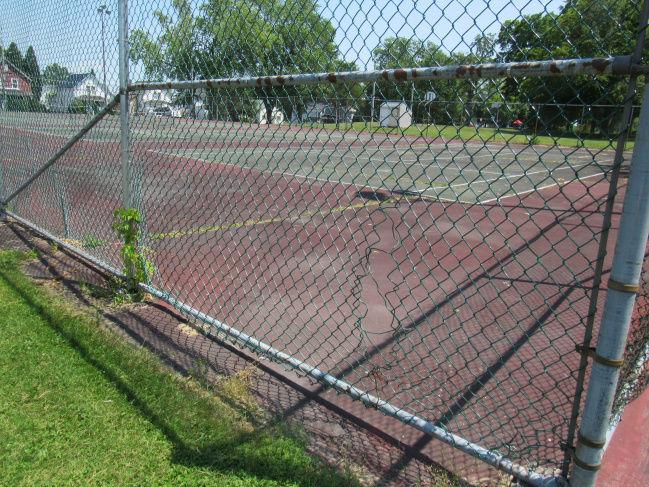 Massena looks at upkeep of tennis courts
