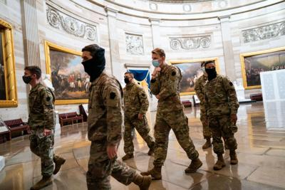 Pentagon offered to pay Guard's Capitol costs