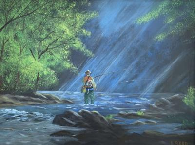 """Winners announced for the """"Hooked on the Salmon River"""" Juried Art Show"""