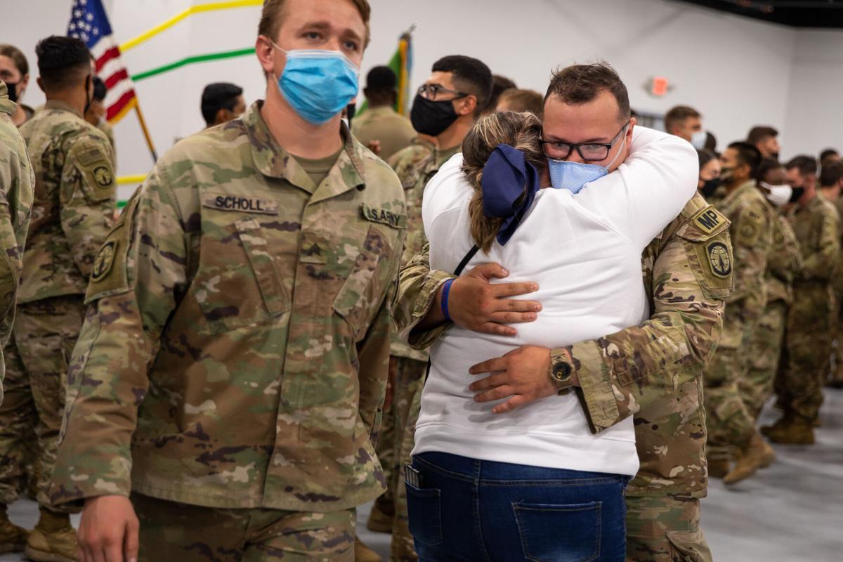 Return of Drum soldiers brings relief