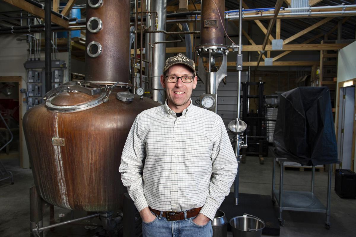 Clayton business now bottling disinfectant