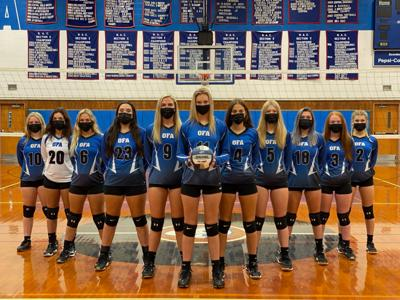 OFA Volleyball reloading to replace leaders of perfect season
