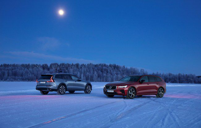 Volvo's V60 wagon handles storms like a champ