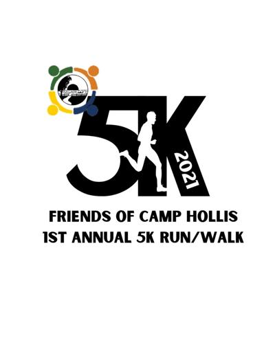 Register for virtual 5K run/walk to support Camp Hollis