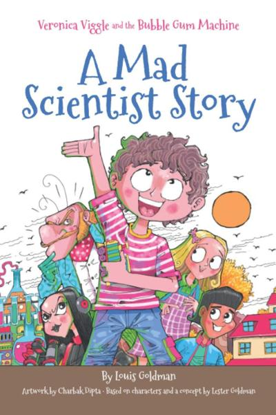 Ingenious inventions and fun in the book 'Veronica Viggle and the Bubble Gum Machine'