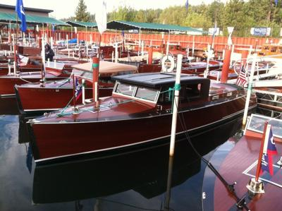 Antique Boat Museum goes to the fair
