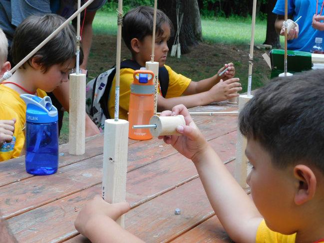 Cub Scouts participate in camp at Fort Drum