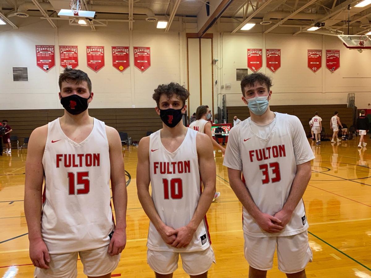 Fulton varsity boys basketball on winning streak
