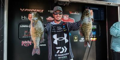 Well-known angler enjoys home waters