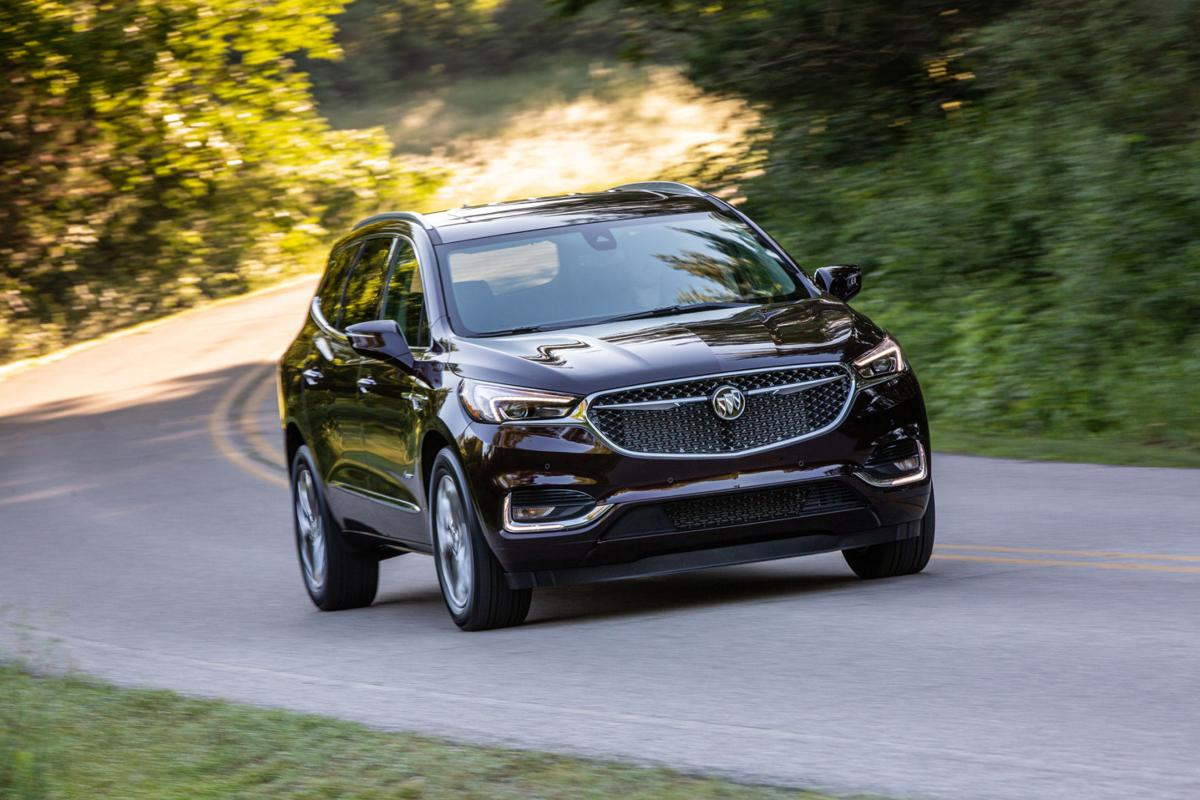 Buick Enclave crossover returns with new features