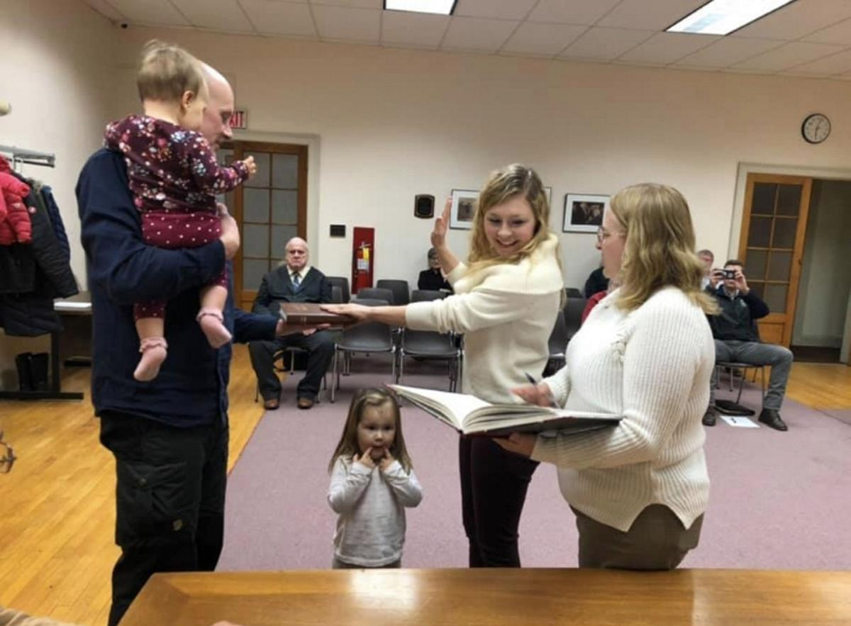 Potsdam officials sworn in at annual meeting