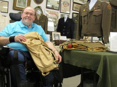 War memorabilia offers history lesson