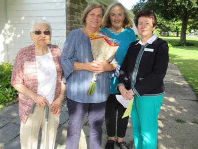 Plante named woman of year