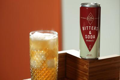 Bitters and soda now in a can
