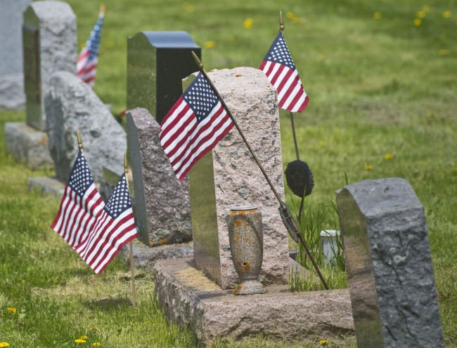 Help needed to place flags on graves