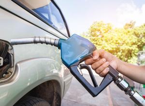 Summer blend vs. winter blend in your gas tank.